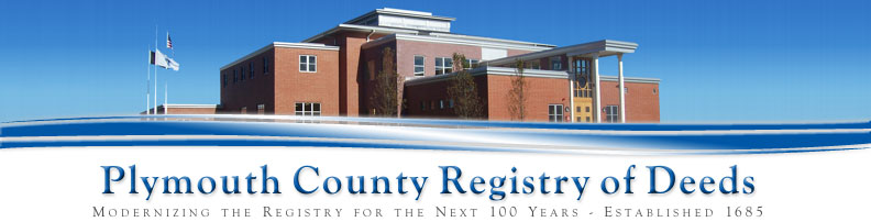 Plymouth County Registry of Deeds - John R. Buckley, Jr., Esq., Register